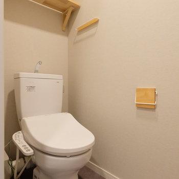 トイレも新品♪
