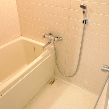 お風呂には湯張り機能が付きました!(※写真と文章は前回募集時のものです。)
