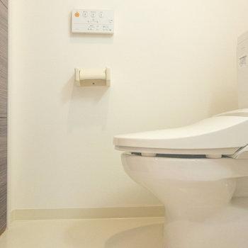 余裕があってゆったりなトイレですね※写真は前回募集時のものです
