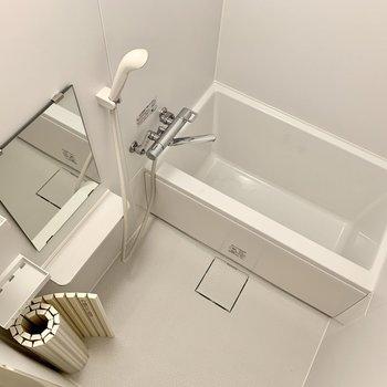 浴室も十分な広さ。