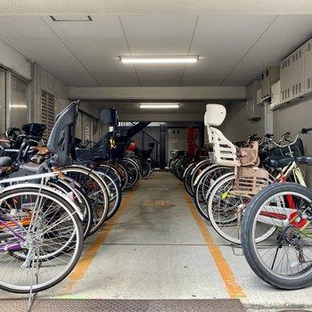 自転車置き場も。要空き確認