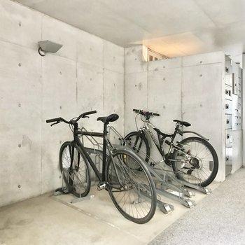 駐輪場・宅配BOXの設備が揃っています