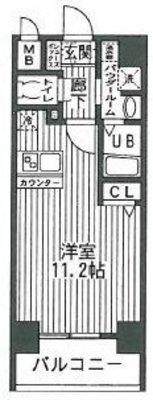 レオンコンフォート神戸西 の間取り