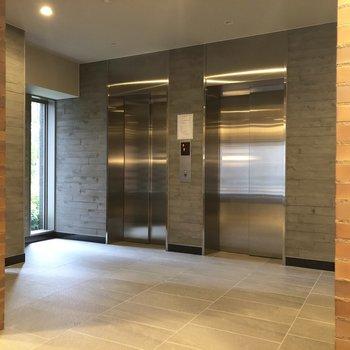 こちらが1Fエレベーターホール。