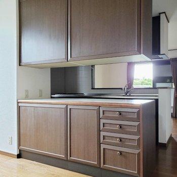 【LDK】表裏収納できる食器棚※写真は前回募集時のものです