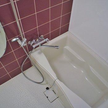 お風呂も綺麗で※写真は同タイプ6階のお部屋のもの