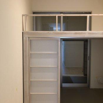 シャッターが付いているので1階でも安心です。