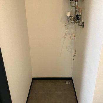 室内洗濯機置場 スペース充分◎