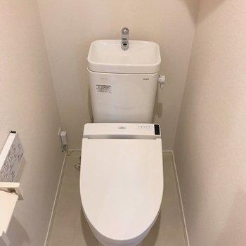 温水洗浄便座は嬉しいポイントです