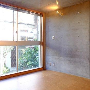 2階は緑を感じます※写真は前回募集時のものです