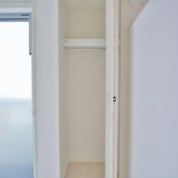 小さめです。※写真は202号室のもの