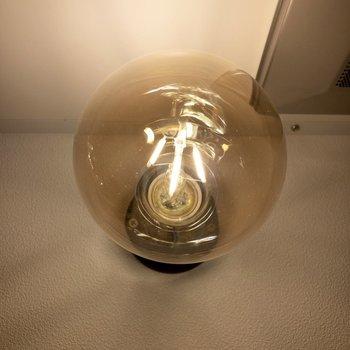豆電球。こだわりを感じます。