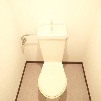 トイレはペーパー置き場をつくれそう!