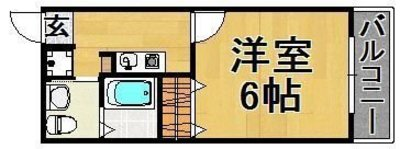 A First Resident の間取り