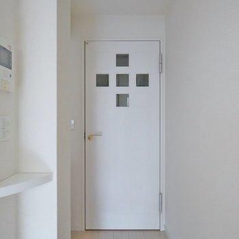 この扉、可愛いっ!!!※写真は同タイプの別部屋