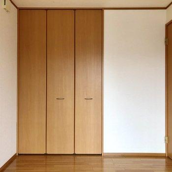 【洋室】収納もたっぷりあります。