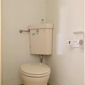 トイレはシンプルスタイル