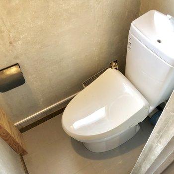 トイレもキレイになっていましたよ!