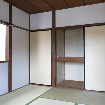 和室②】反対側も和室になっております。※写真は反転間取り、別部屋のもの
