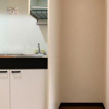 冷蔵庫置き場もあります◎