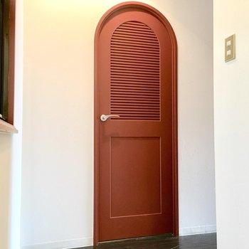 心に秘めた赤い扉を開けて