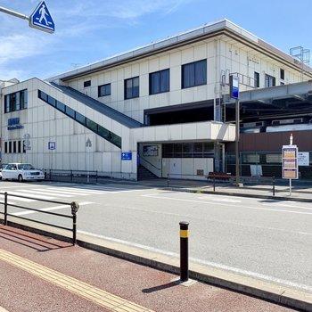 最寄りの貝塚駅。