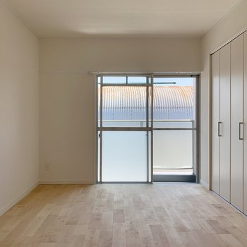 そして区切られている洋室には・・・※写真は3階反転間取り別部屋のものです
