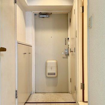 バストイレは完全に独立の間取り