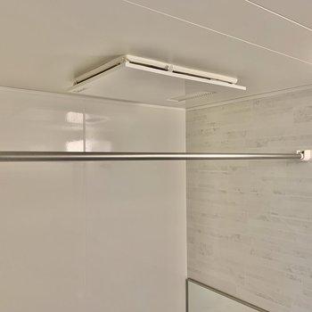 浴室乾燥機付き。ありがたい!
