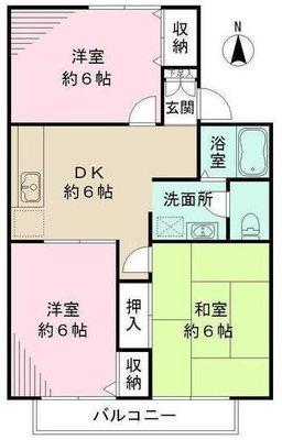 横浜ハウス2 の間取り