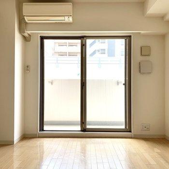 家具の配置もしやすそう◎(※写真は3階同間取り別部屋、清掃前のものです)