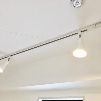 照明を付け替えれば自分好みの空間へ。 (※写真は4階の同間取り別部屋のものです)