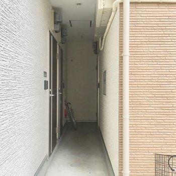 1階こちら共用スペース!せまめ!