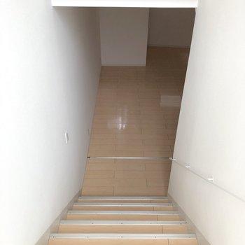 さらに下って、地下へ。