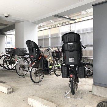 自転車で通勤もできますね