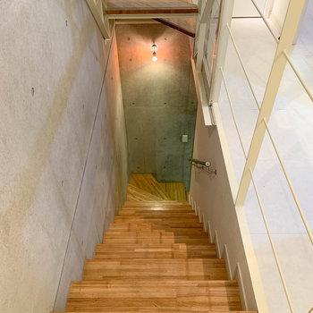 では、さらに降りて地下室へ行ってみましょう。※写真は前回募集時のものです