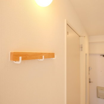 廊下にある照明や小物がポイント※写真は前回募集時のもの