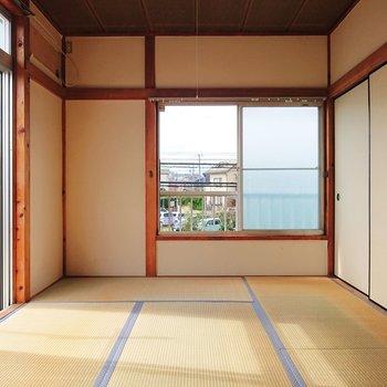 【和室1】和室が好きならぴったりです。※写真はクリーニング前のものです。