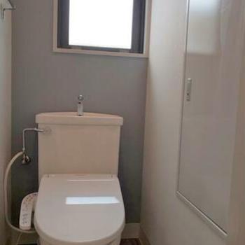 白くて清潔感のあるトイレ