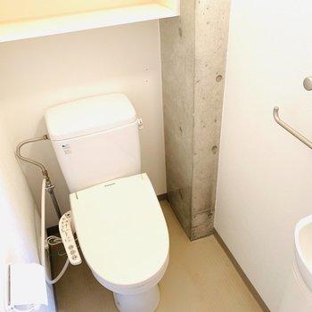 手洗い場がついています