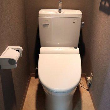 個室で落ち着けるトイレ