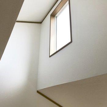 【ロフト】みあげて。小窓ステキ!※写真は1階の同間取り別部屋のものです