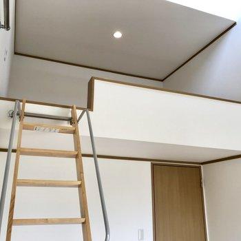 【ロフト】趣味の空間にぴったり。※写真は1階の同間取り別部屋のものです