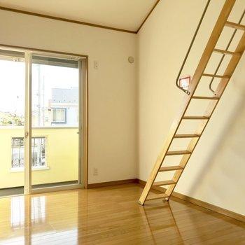 【DK】のぼりたくなっちゃうでしょ?※写真は1階の同間取り別部屋のものです