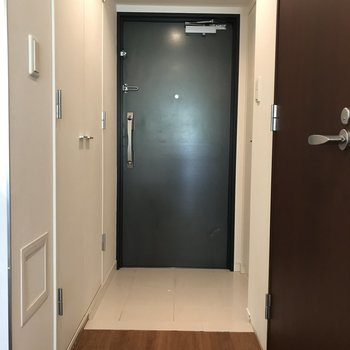 扉がハンサム※写真は1階の反転間取り別部屋のものです