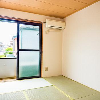 和室は和みますね※写真は2階の同間取り別部屋のものです