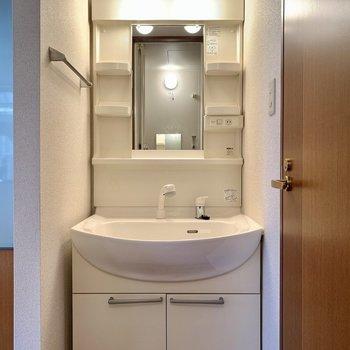 各種設備が整っている洗面台でした。