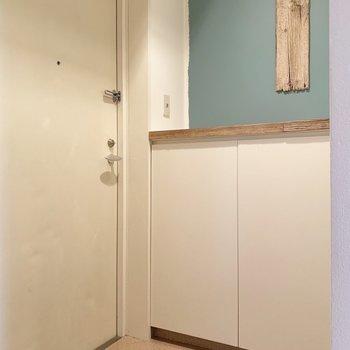 もう住みたい欲が止まりません。。広さもちょうどいい玄関です