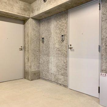 左の扉が今回のお部屋。大きいですよね。