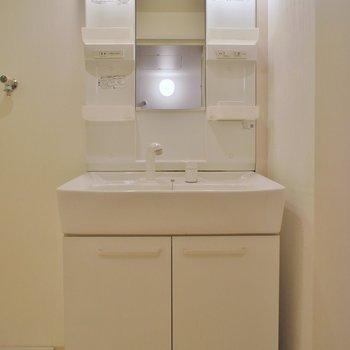 洗面所もゆったり※写真は同タイプの別室。